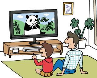 テレビ 家の中で大きなテレビの音が鳴っていたり 夫婦喧嘩が毎日のように起こっていたり 家の中がぐ